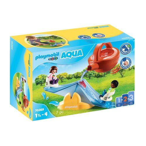 Playmobil 1, 2, 3   Wasserwippe mit Gießkanne