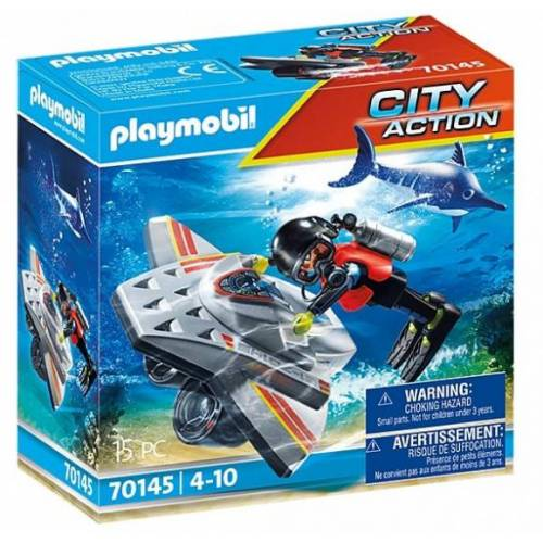 Playmobil City Action   Rettung auf See: Tauchboot (70145)