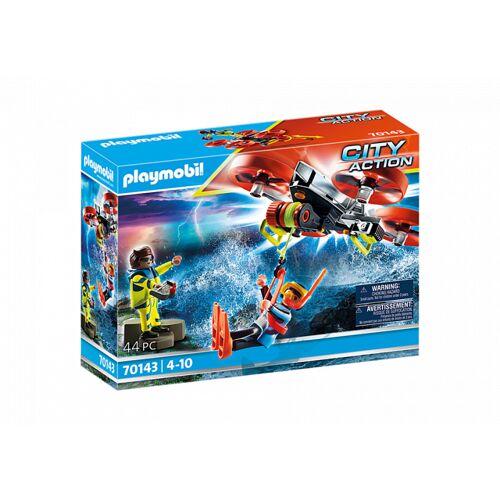 Playmobil City Action   Redding op zee: Rettungsdrohne (70143)