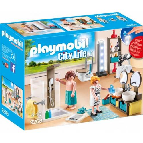 Playmobil City Life in der City Life : Dusche (9268)