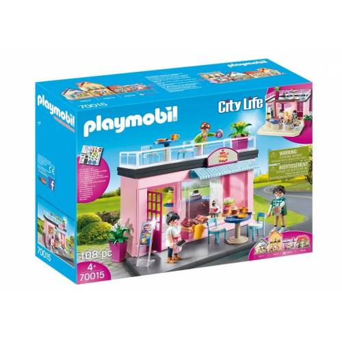 Playmobil City LifeMeine kleine Stadt   Kaffeehaus (70015)