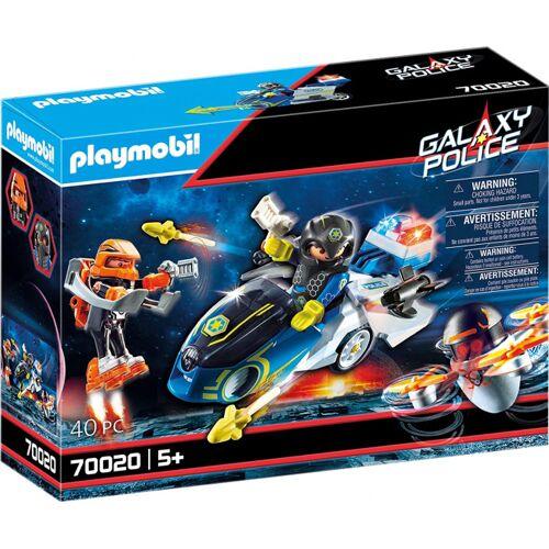 Playmobil Galaxy Police motorrad Jungen 40 teilig