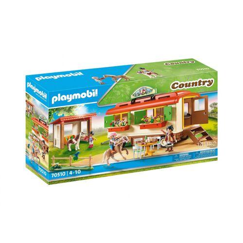 Playmobil Land   Pony Camp Anhänger (70510)