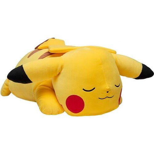 Pokémon kuscheltier schlafend Pikachu junior 45 cm Plüsch gelb