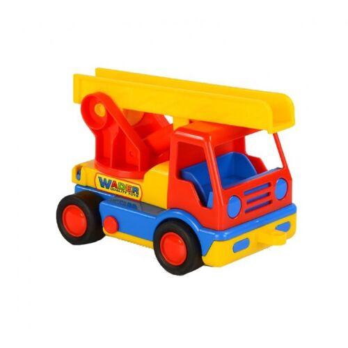 Polesie leiterwagen 19 cm rot/gelb