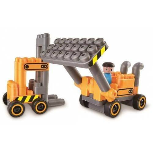PolyM Baustellenbausteine 43 teilig