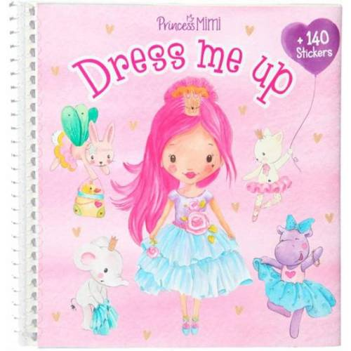 Princess Mimi stickerband Dress Me Up Mädchen 17 cm Papier