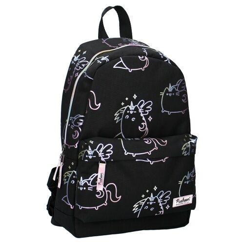 Pusheen rucksack Pusheender Katze 10 Liter Polyester schwarz/weiß