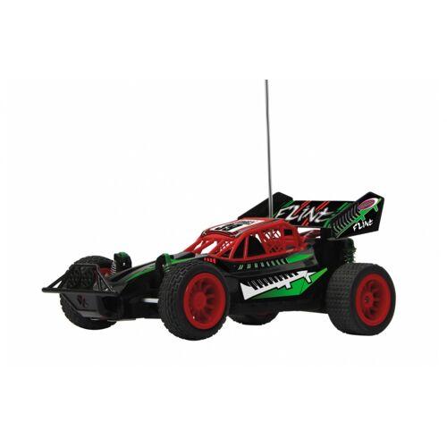 JAMARA RC Flint Buggy Jungen 27 MHz 1:14 rot/grün