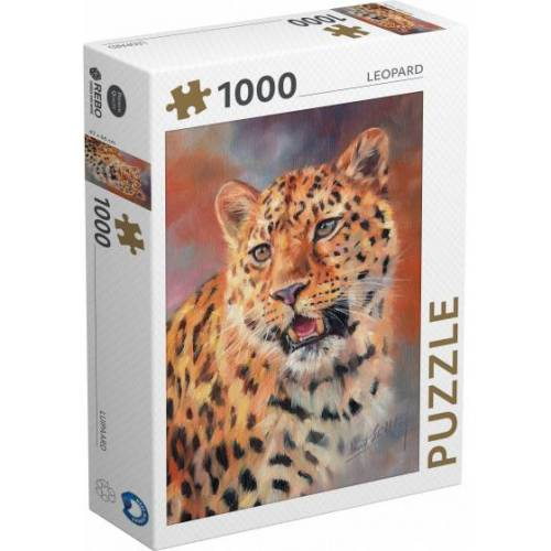 Rebo Productions puzzle Leopard 1000 Teile
