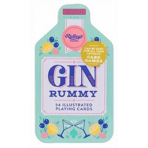 Ridley's Games kartenspiel Gin Rummy Aluminium/Karton 54 teilig