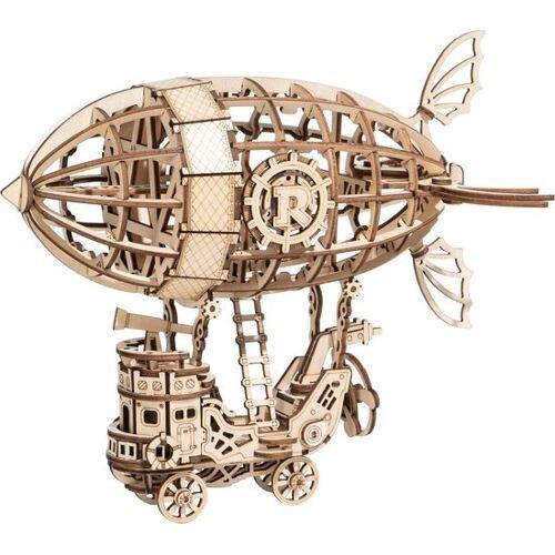 Robotime 3D Puzzle Luftschiff 18 cm Holz natur 176 teilig