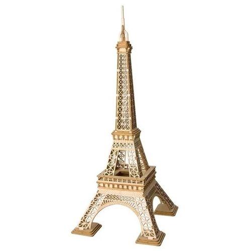 Robotime 3D Puzzle Eiffelturm 23 cm Holz natur 122 teilig