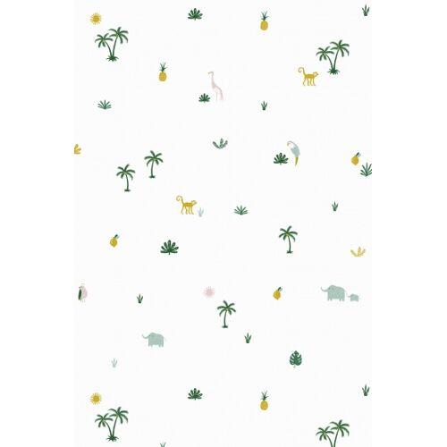 Roommate tapete Tropenweiß 1000 x 53 cm
