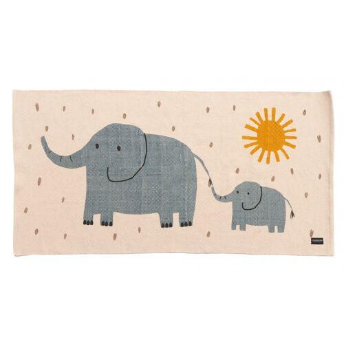 Roommate webteppich Elefanten Junior 70 x 140 cm