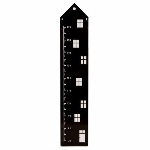 Roommate growimeter Haus schwarzes Metall 113 x 22 cm S