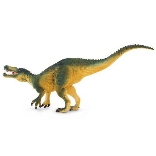 Safari dinosaurier Suchomimus junior 20 cm Gummi grün/gelb