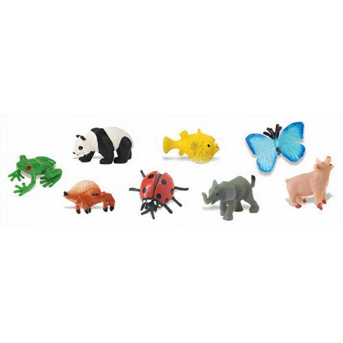 Safari minifiguren Viel Glück 8 Stück