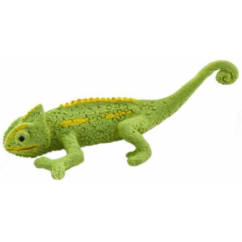 Safari mini Figuren Chamäleon 2,5 cm Gummi grün 192 Stück