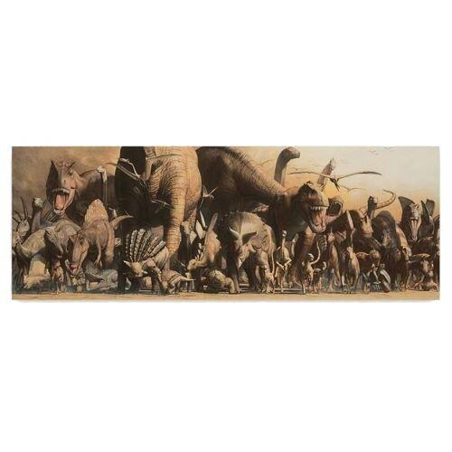Safari poster Dinosaurier Panorama 91,5 x 32 cm Papier