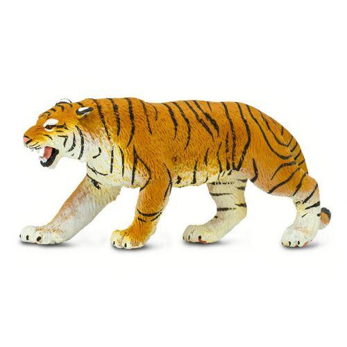 Safari spieltier Bengalischer Tiger Junior 15 cm orange/schwarz