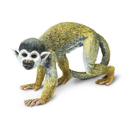 Safari spieltier Totenkopfäffchen Affe junior 14,5 cm gelb/grau