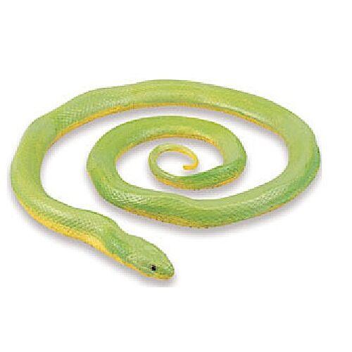 Safari spieltier grobe Ringelnatter 91,5 cm grün