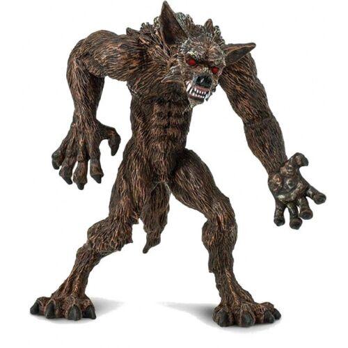Safari figur Werwolfjungen 10,25 cm dunkelbraun