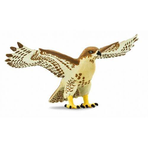 Safari vogel Rotschwanzbussard Junior 14,5 cm rot/braun
