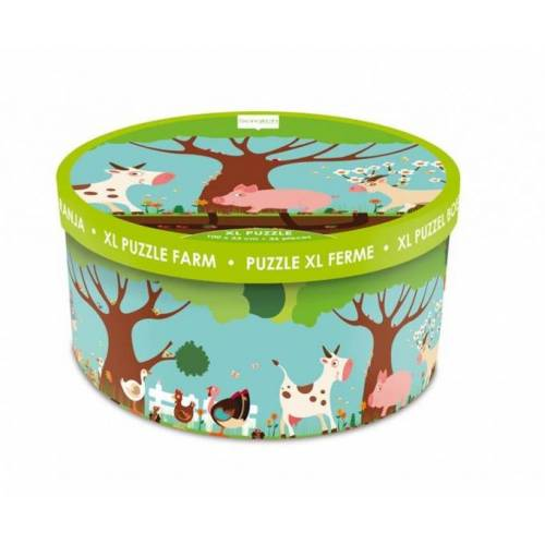 Scratch bodenpuzzle Farm XL 36 Teile