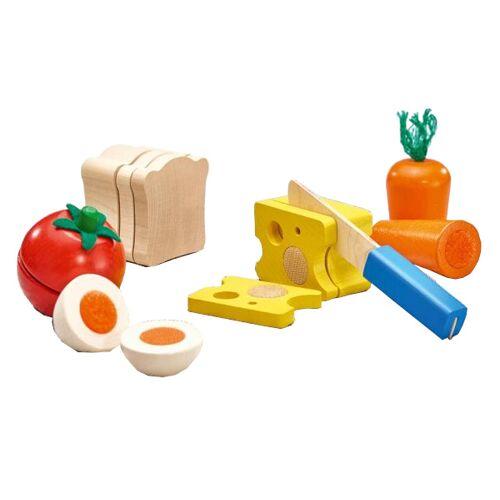 Selecta Spielzeug spielzeugnahrung Brot & Gemüse Junior Holz 6 teilig