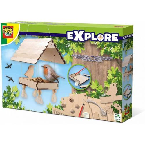 SES vogelhaus Junior Holz 6 teilig selbst bauen