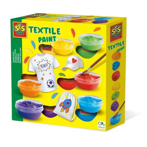 SES textilfarbe junior 20 cm Acryl 6 Farben