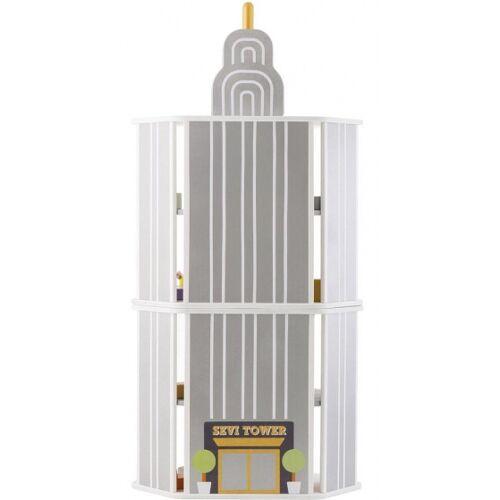 Sevi Spielturm weiß 90 cm