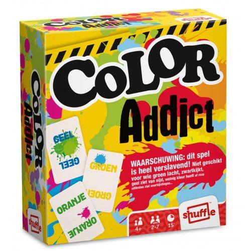 Shuffle kartenspiel Color Addict Karton 110 teilig