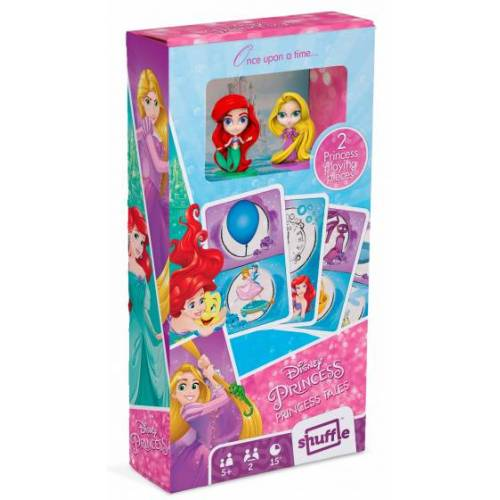 Shuffle kartenspiel Disney Princess 8,7 x 5,6 cm Karton 57 teilig