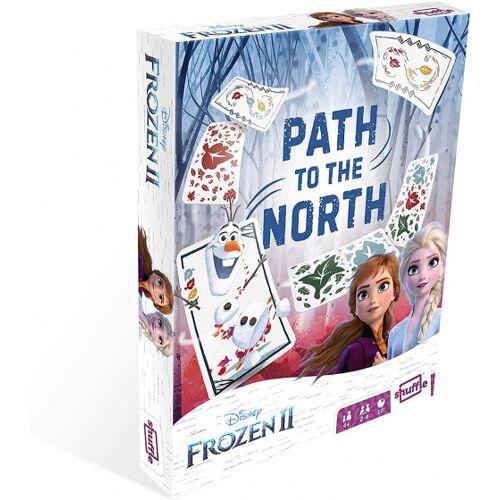 Shuffle kartenspiel Frozen II Pfad zum Norden Junior Karton