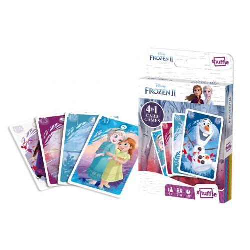 Shuffle kartenspiel 4 in 1 Disney Frozen II Karton 32 teilig (FR)