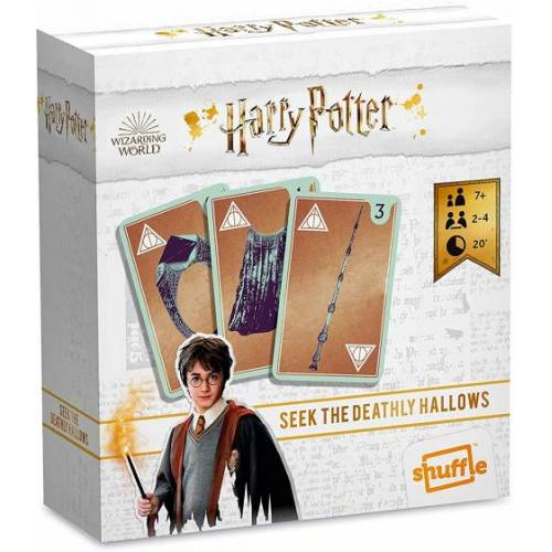 Shuffle kartenspiel Harry Potter 12,5 x 11,5 cm Karton 55 teilig