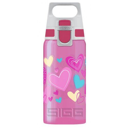 Sigg trinkflasche Viva OneHerzen Mädchen 500 ml rosa