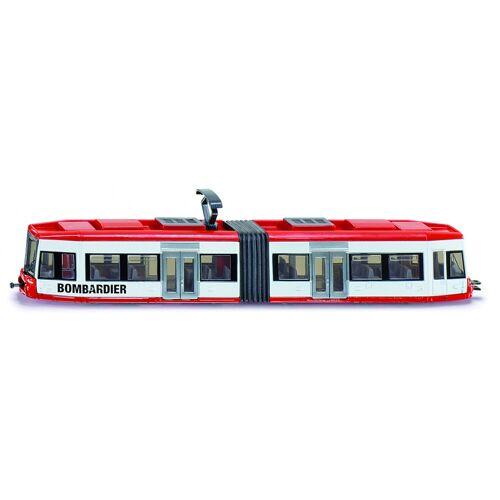 Siku Bombardier Straßenbahn rot / weiß (1895)