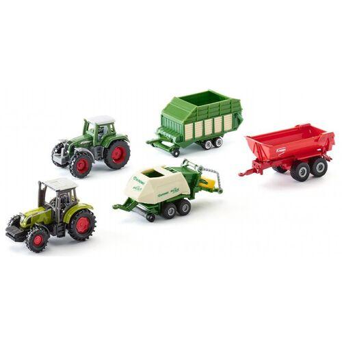 Siku Geschenk Traktoren mit Anhängern (6286) 5 Stück