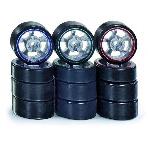 Siku Racing : B schwarze Reifen 3 Sätze von 4 Reifen (6808)