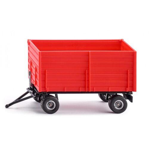 Siku zweiachsiger Anhänger 18,5 cm Stahl rot/schwarz (2898)