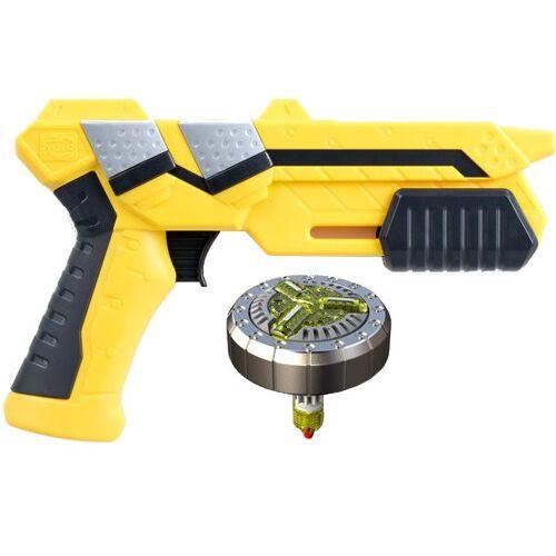 SilverLit spinner Blaster Spinner Spinner junior gelb 2 teilig