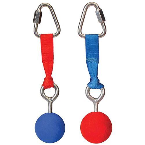 Slackers ninja Bälle für die Ninja Linie 2 Stück rot/blau