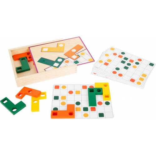 Small Foot puzzle geometrisches Junior Puzzle Holz/Pappe 12 Teile