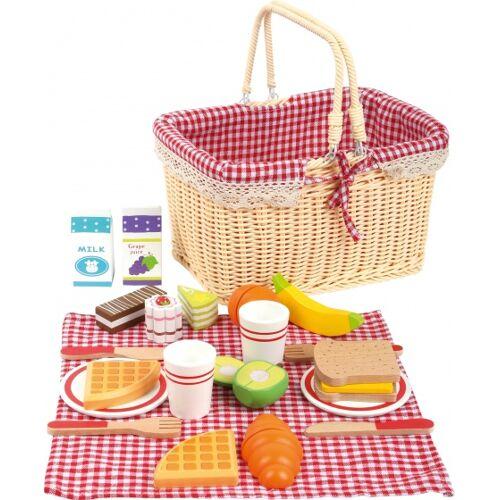 Small Foot picknickkorb blank 25 x 18 x 16 cm