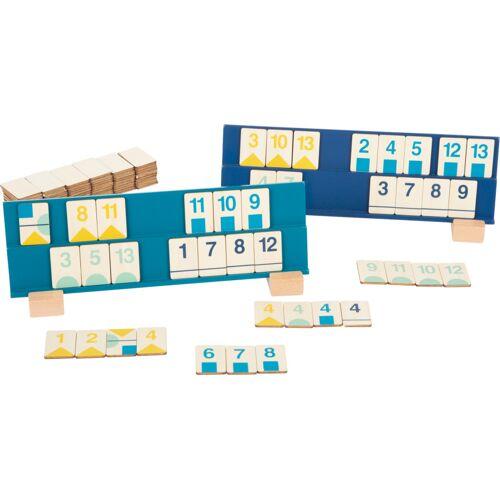 Small Foot rommé Puzzlespiel 27 x 9 cm Holz/Textil 110 teilig