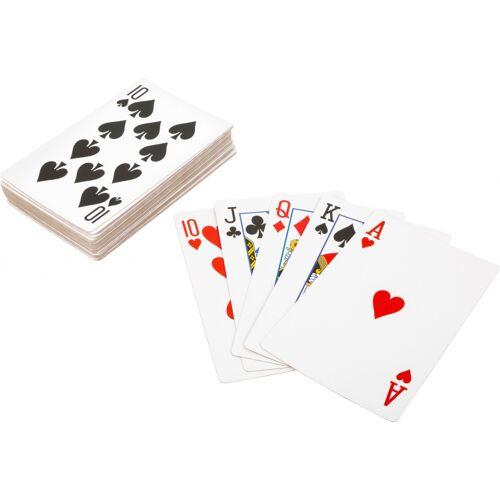 Small Foot spielkarten XXL Spielkarten 21 x 14 cm 54teilig
